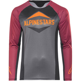 Alpinestars Mesa LS Jersey Men black rio red dark shadow
